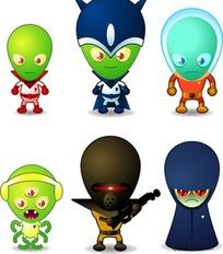 外星人造型
