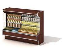 超市酒类展示柜3D模型