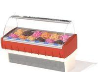 超市熟食展示柜三维模型