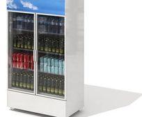 商场啤酒饮料冷冻柜三维模型
