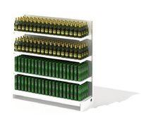 商场啤酒展示柜3D模型