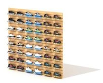商场鞋类展示架3D模型