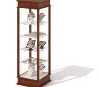 商场珠宝展示柜3D模型