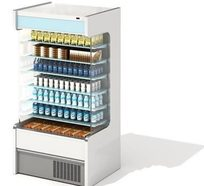饮料类物品柜3D模型