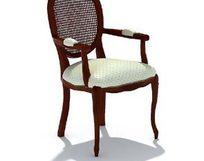 靠背软椅三维模型