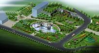 广场景观规划效果图
