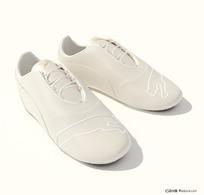 3D白色精致休闲鞋模型