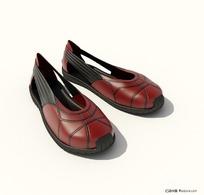 3D精致鞋子模型