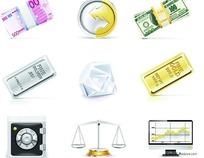 各种金融图标