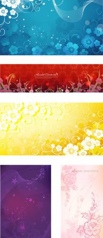 时尚流行韩国花纹