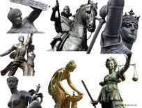 欧洲古代人物雕像