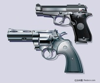 左轮手枪等军事武器