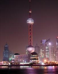 上海东方明珠塔夜景图片图片