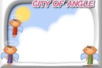 小天使相框