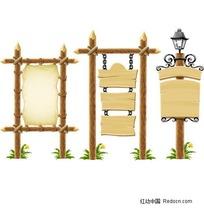 木板公示牌、木板公告栏,公告栏,公示栏