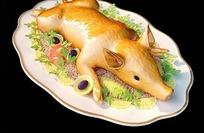 3D烤乳猪模型