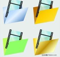 视频文件夹图标