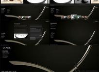 超酷的设计公司专用flash xml模板