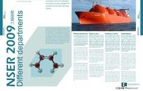 工程研究画册排版设计模板