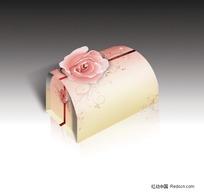 粉玫瑰包装