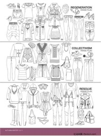 服装设计模板12
