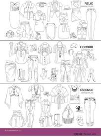 服装设计模板2