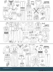 服装设计模板7
