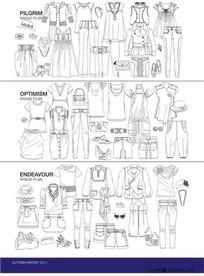 服装设计模板