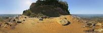 360全景图-海边的小山包