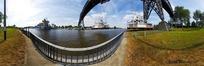 360全景图-河边的铁塔