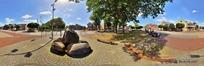 360全景图-街道两边风景