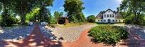 360全景图-树林中的别墅
