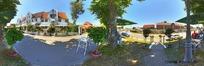 360全景图-小镇建筑风景