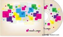 五彩方块CD盒
