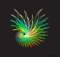 螺旋花纹图片