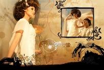 婚纱摄影素材下载