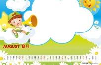 2011年儿童台历psd模板
