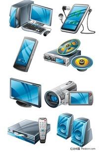 高质感数码产品矢量素材