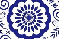 古典花纹之青花
