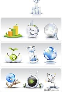 商务网站图标