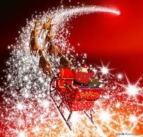 星光璀璨的圣诞节元素