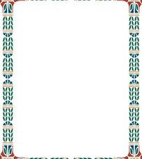 欧式麦穗边框
