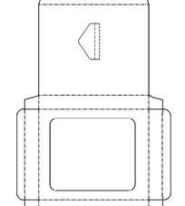 包装纸盒结构