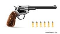 豪华的左轮手枪