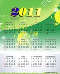 2011日历