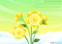 云端上的太阳花