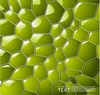 3D炫彩水立方文本框模板矢量素材004