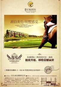 东城国际房地产宣传海报
