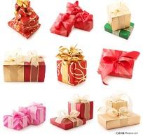 各种大小的礼物包装盒