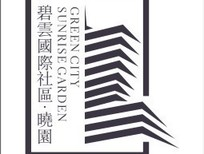 碧云国际社区晓园 房产矢量标志